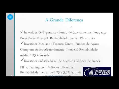 Curso Gratuito Investidor de Sucesso - Independência Financeira e Aprender a Investir!