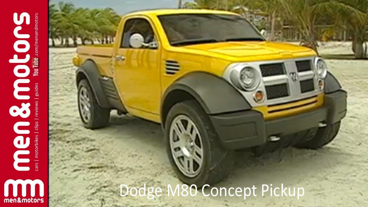 Dodge M80 Concept Pickup - YouTube