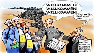 Deutschland wird zur Einwanderung gezwungen & soll vernichtet werden!