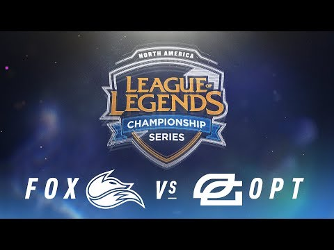 FOX vs. OPT - Week 3 Day 2 | NA LCS Spring Split | Echo Fox vs. OpTic Gaming(2018)