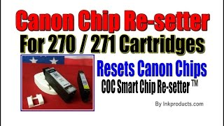Chip Re setter for Canon 271  270 Cartridges with Refill Tools