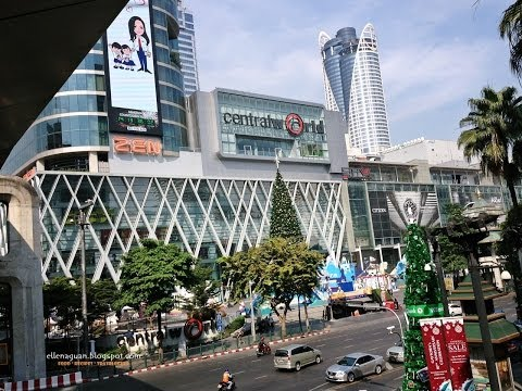 Central World Plaza Shopping Walk About – Bangkok Trip Part 22