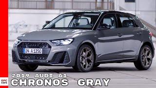 2019 Audi A1 - Chronos Gray