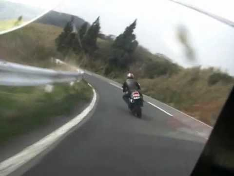 【Ashinoko Skyline】My VFR750F Interceptor_1 Video