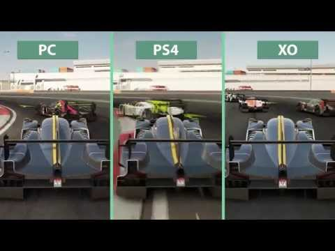 Project CARS – PC vs  PS4 vs  Xbox One Graphics Comparison 60fps FullHD 1080p