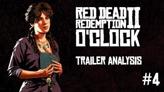Red Dead Redemption 2 o'clock Special - Gameplay part II trailer analysis