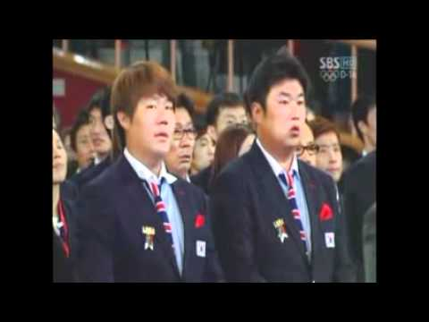 Sung-Bong Choi sings national anthem for Olympic athletes for London 2012 Music Videos