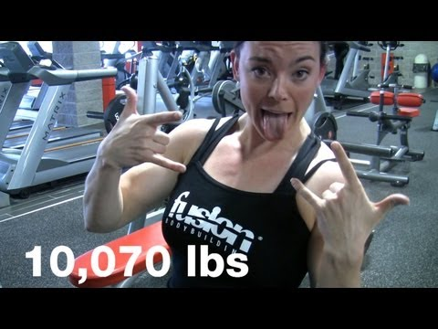 Jodi Boam 10,000lbs. Bench Off Contest Example