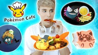 i ate at the official POKEMON RESTAURANT in japan !