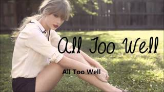All Too Well- Taylor Swift- OFFICAL KARAOKE