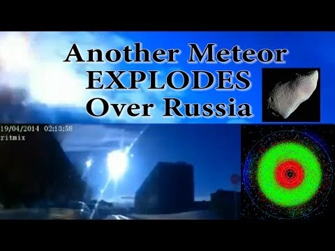 Another Meteor EXPLODES over Russia! Video Compilation. Zoomed & Slowed Down.