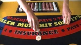 "HOW TO DEAL CASINO GAMES, PCI Dealer Sch. ""40 Drill"""