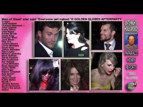 Monica Lewinsky , Taylor Swift, Henry Cavill, Bar Rafaeli, more at Golden Globes Afterparty