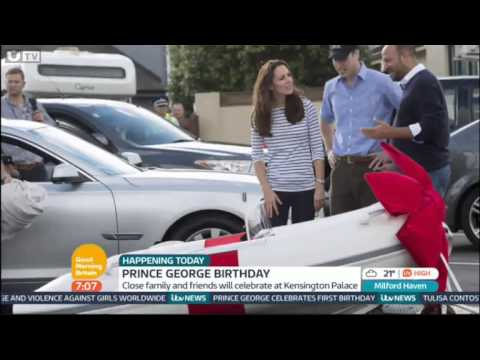 Good Morning Britain: GMB celebrates Prince George's birthday!