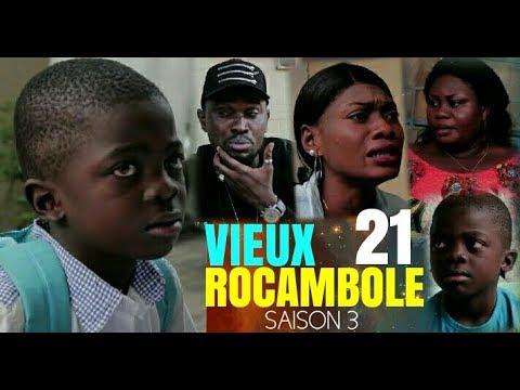 VIEUX ROCAMBOLE 21 Saison 3 Théâtre Congolais Nouveauté 2018 | Rocali Guecho Sharufa