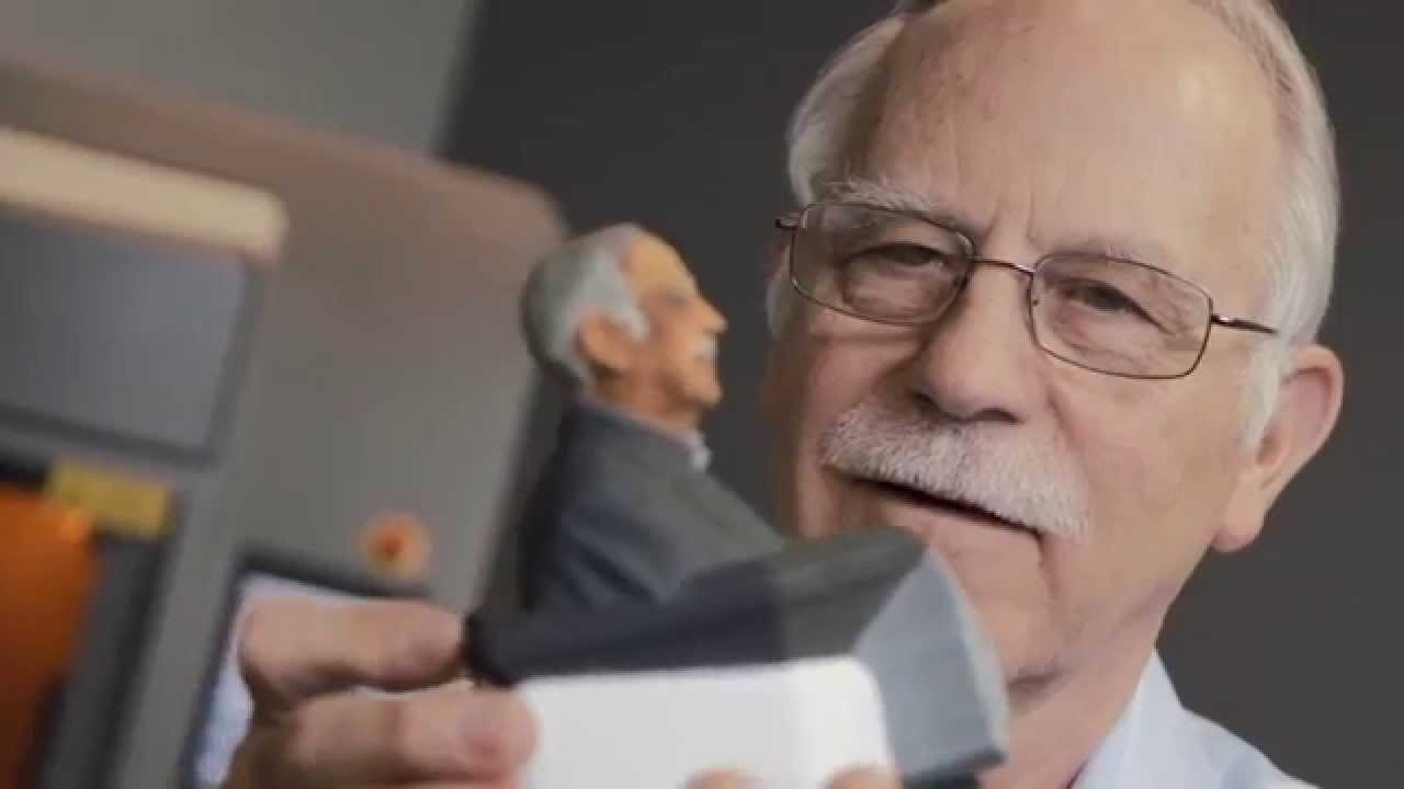 Charles w hull winner european inventor award 2014 youtube for Who invented the 3d printer