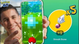 A NEW SHINY + GUARANTEED SINNOH STONES in Pokémon GO!