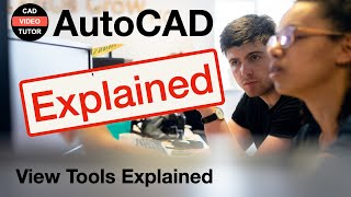 AutoCAD 2012 - Lesson 2 - Drawing Display & Views