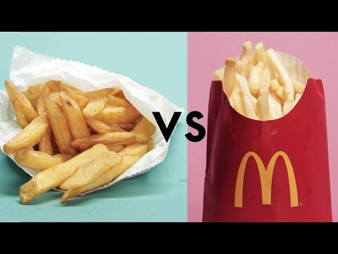 McDonald's Vs. 'Healthy' Restaurants