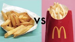 McDonald's Vs. 'Healthy' Restaurants