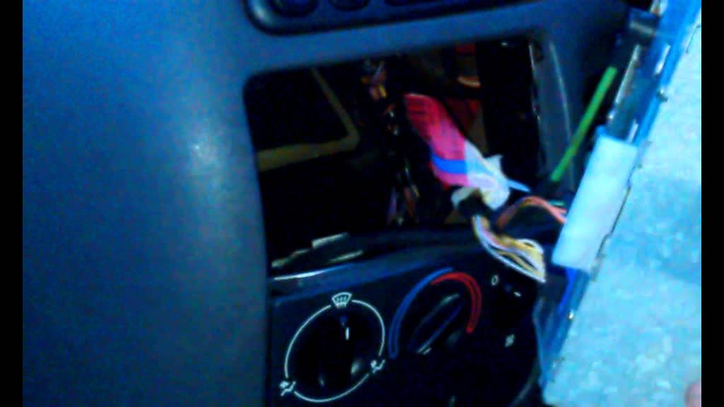 Radio Removal Ford Fiesta/Escort/Focus/KA/Mondeo/Transit ...