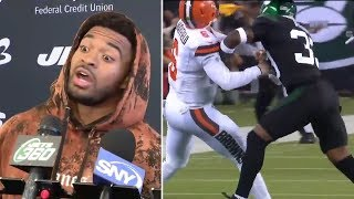 Jamal Adams REACTS To 21K Fine On Baker Mayfield Roughing The Passer