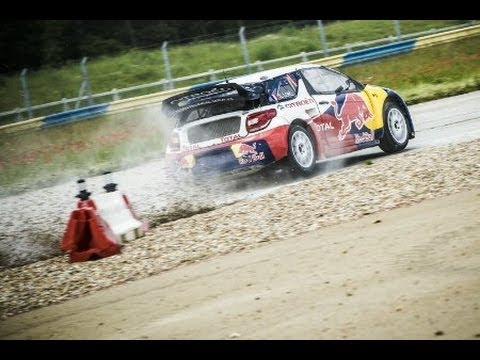 Image video Sebastien Loeb's new car in action - X Games 2012
