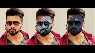 Photoshop Tutorial ! FACE MASK ! How to Make Mask on Face ! film Star Suriya.