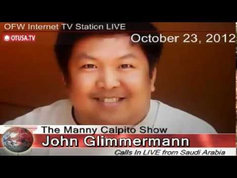 OFWs in Jeddah active in helping each other _ JOHN GLIMMERMANN Interview_ The Manny Calpito Show