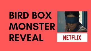 BIRD BOX MONSTER REVEAL - LEAKED IMAGE - NETFLIX