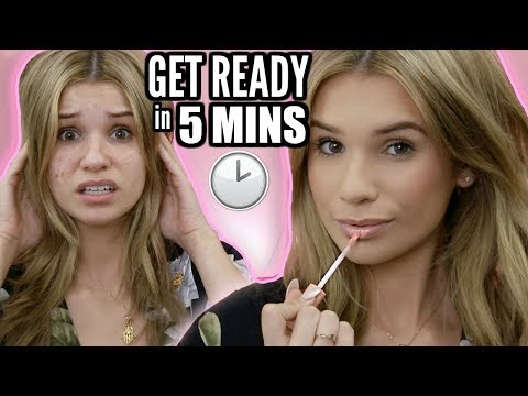 5 MINUTE Back to School Makeup! TIPS When You're LATE AF