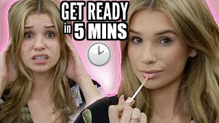 5 MINUTE Back to School Makeup! TIPS When You