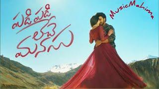 Padi Padi Leche Manasu Title song  Sharwanand  Sai
