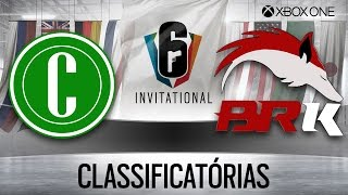 [BR] CHAPE vs. BRK-SPORTS | CLASSIFICATÓRIAS INVITATIONAL | FINAL PERDEDORES (XONE)