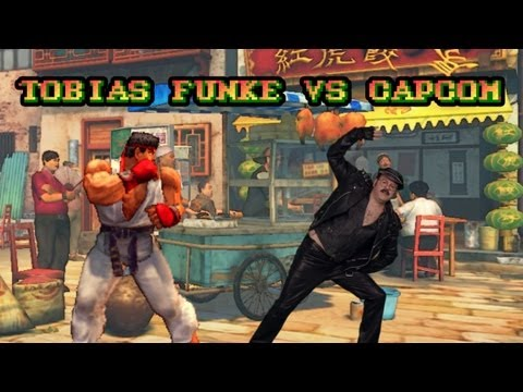 Tobias Funke vs Capcom