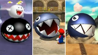 Evolution of Chain Chomp Minigames in Mario Party (1998-2017)