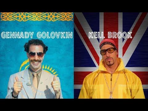 Gennady Borat Golovkin Highlights