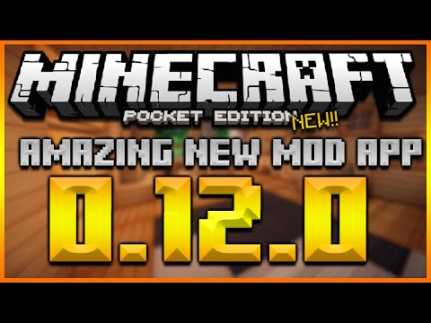 ★MINECRAFT POCKET EDITION 0.12.0 - NEW AMAZING TMI APP + CUSTOM TEXTURE PACK. SKINS & MORE!★