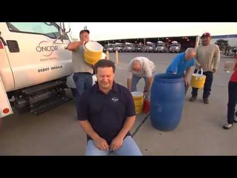Oncor VP Keith Hull Takes the ALS #IceBucketChallenge