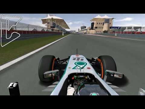 Grand Prix 4 - 2014 - Nico Rosberg - Bahrain International Circuit - Onboard Lap