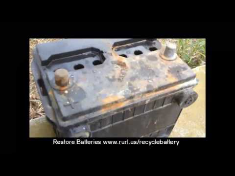 Restore Car Battery To Like New Condition - How To - DIY Automotive