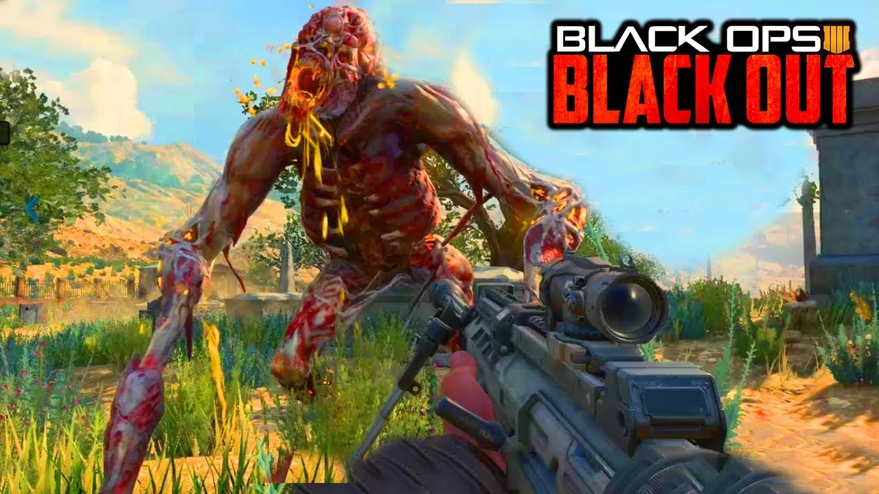 Black Ops 4 Zombies Boss Fight Easter Egg In Blackout