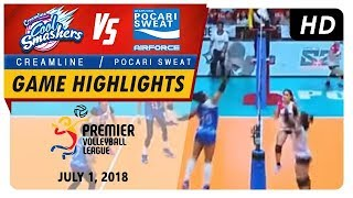 PVL RC Season 2 - WD: Cool Smashers vs. Lady Warriors | Game Highlights | July 1, 2018