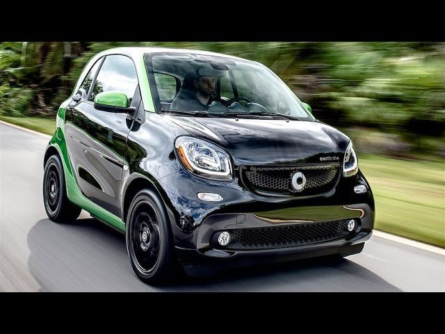 2017 Smart fortwo Electric Drive Review--Smart Electric ...