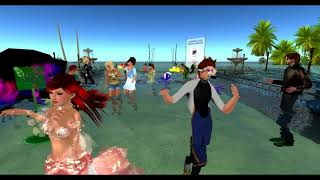 Relay For Life of Second Life Post Relay Flood Party 2018