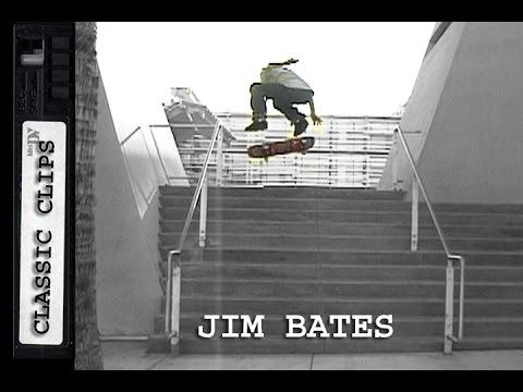 Jim Bates Skateboarding Classic Clips #268