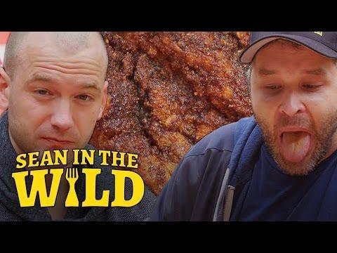 Sean Evans Eats L.A.'s Spiciest Fried Chicken with Brian Redban | Sean in the Wild