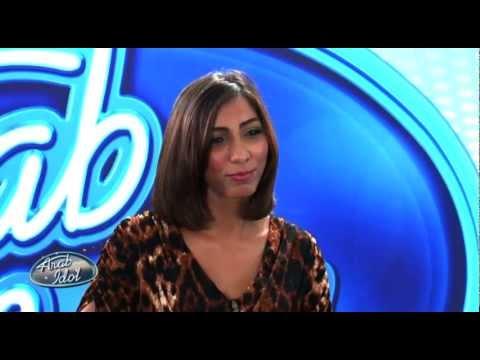لحظات - دنيا في اول تجربة أداء - Arab Idol