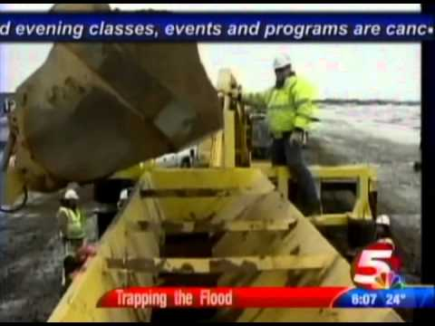 Fargo, N.D., Flooding News Covers TrapBag® Barriers