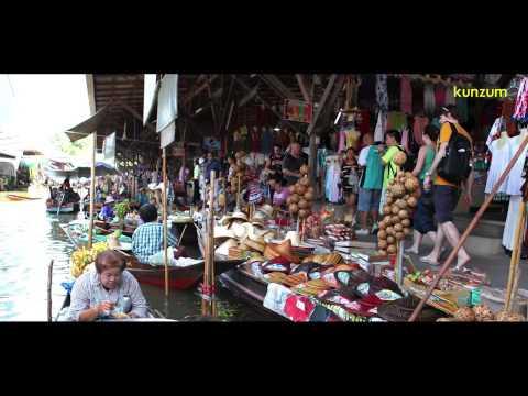 Thailand – Bangkok: Damnernsaduak Floating Market | SHOPPING